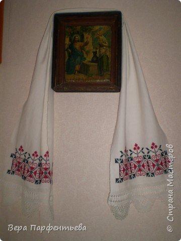 Вышивка крестом: Память о бабушке фото 1