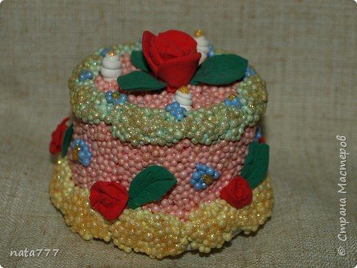 Лепка: Тортик фото 1