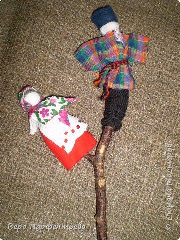 Обрядовые куклы: Кувадки, Желанница, Мировое дерево, Мартинички, Владимирская столбушка, Узелковые куклы, Свадебная обрядовая фото 3