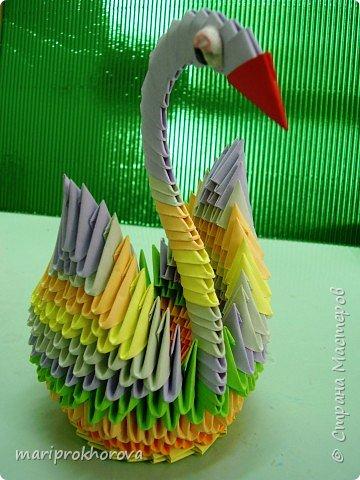 Оригами модульное: Работа моих учеников фото 1