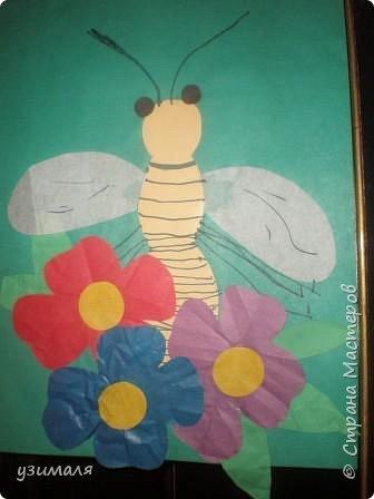Аппликация: Пчелка
