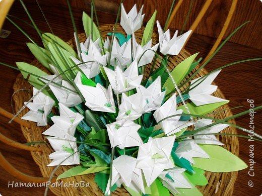 Оригами подснежники своими руками 87