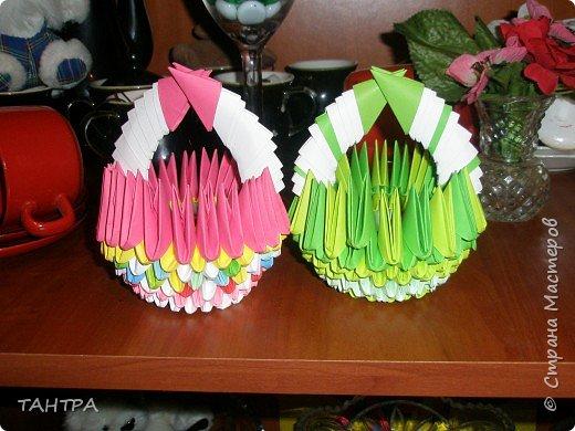 Оригами модульное: Первые мои работы фото 3