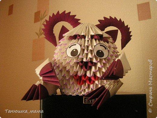 Оригами модульное: Бараш