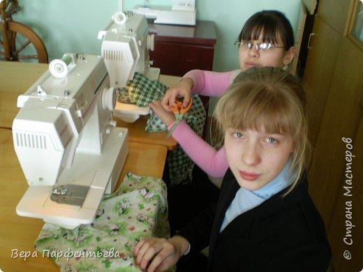 Шитьё: Дошиваем фартуки! фото 3