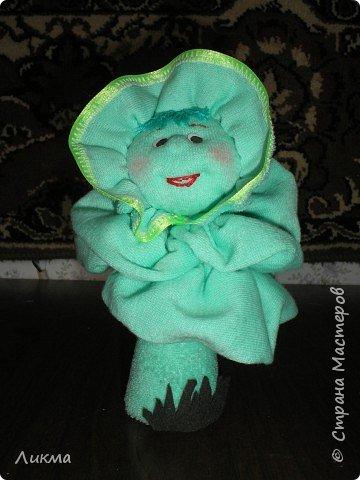 Игрушка мягкая: Уродилась у меня дивная капустка. фото 2