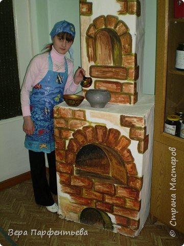 Роспись: Русская печь