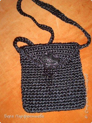 Вязание крючком: Вечерняя сумочка