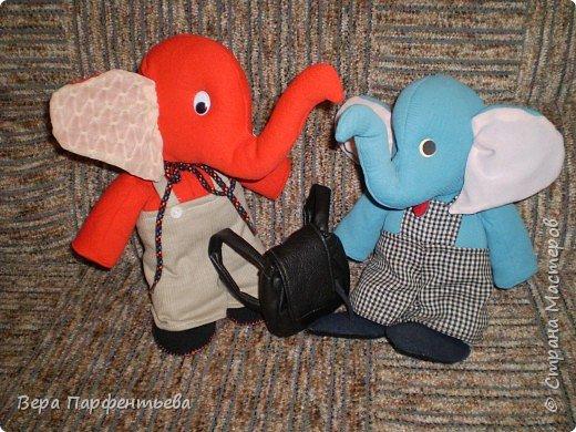 Шитьё: Наши слоники фото 1