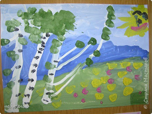 Рисование и живопись: рисунки сына