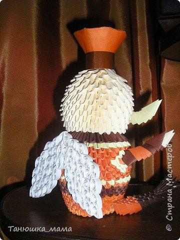 Оригами модульное: Генерал Шер фото 2