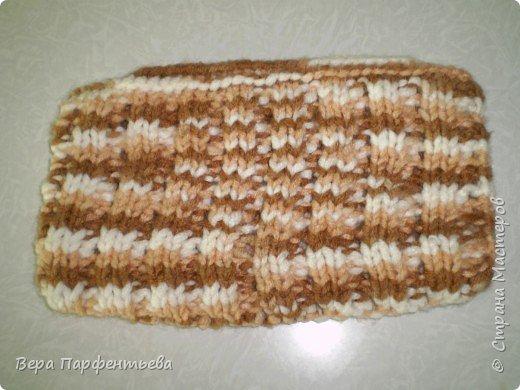 Вязание спицами: Косметичка фото 2