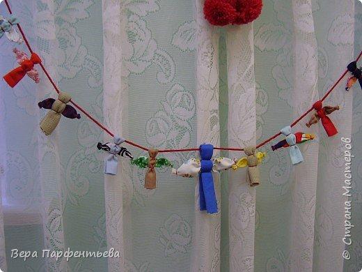 Обрядовые куклы: Кувадки, Желанница, Мировое дерево, Мартинички, Владимирская столбушка, Узелковые куклы, Свадебная обрядовая фото 1