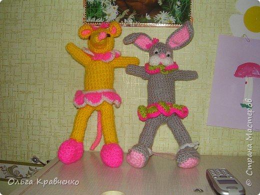 Вязание крючком: Игрушки в детский сад
