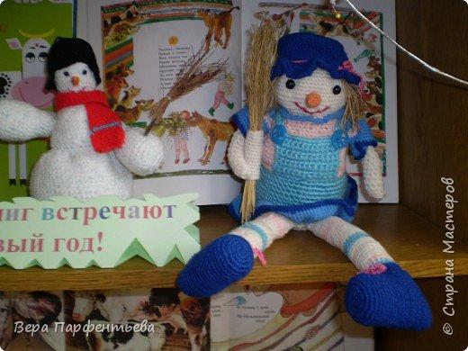 Вязание крючком: Снеговички фото 2