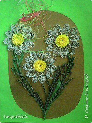 Квиллинг: Хризантемы