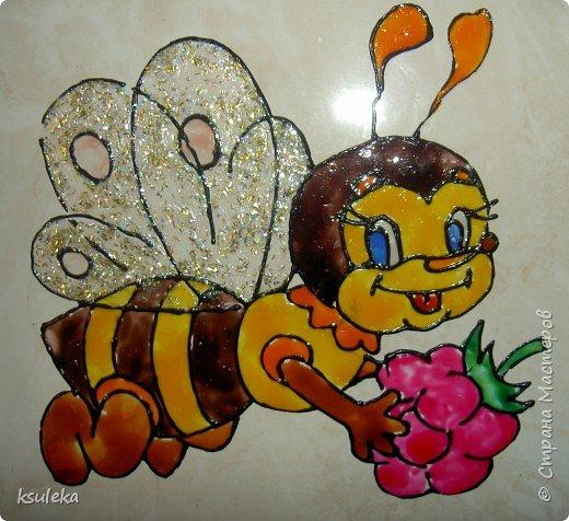 Витраж: Пчелка Мая фото 1