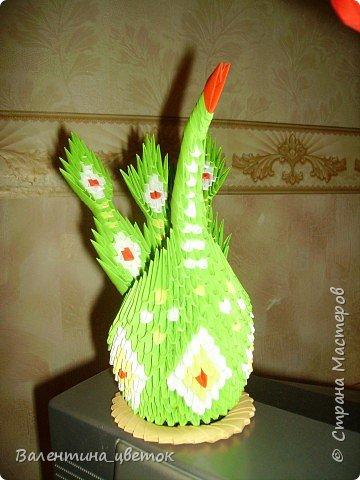 Оригами модульное: Мои птицы фото 2