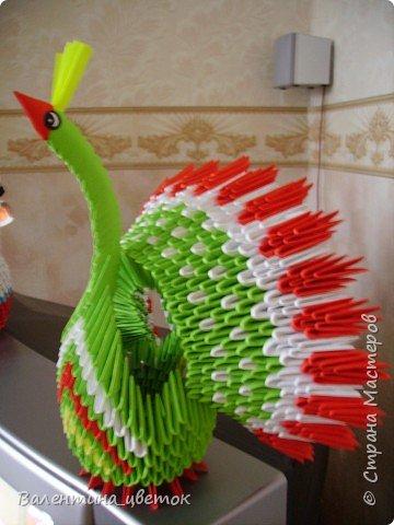 Оригами модульное: Мои птицы фото 5