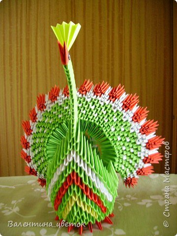 Оригами модульное: Мои птицы фото 6