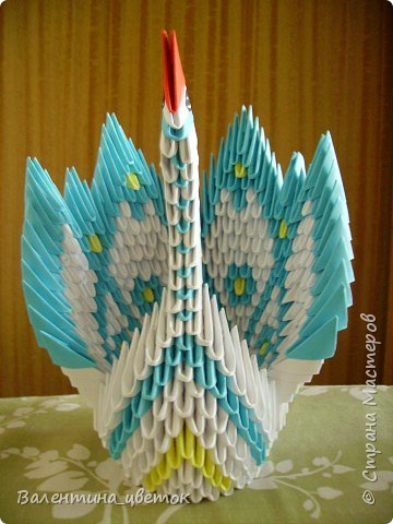 Оригами модульное: Мои птицы фото 7