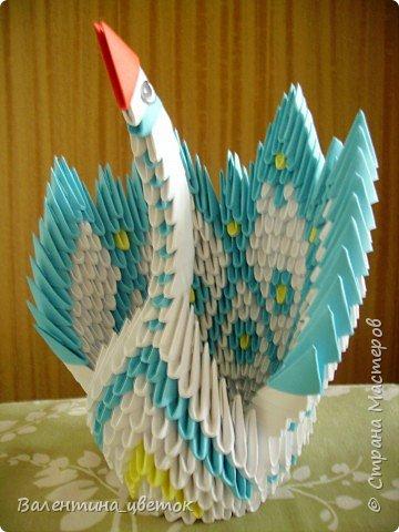 Оригами модульное: Мои птицы фото 8