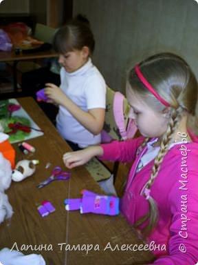 Шитьё: Куклы из носков и перчаток фото 2