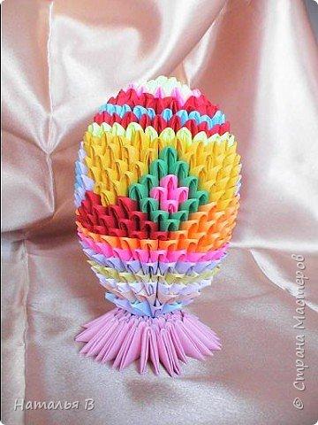 Оригами модульное: К Пасхе фото 1