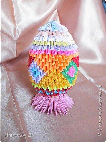 Оригами модульное: К Пасхе фото 2