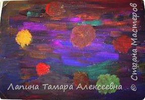 Рисование и живопись: Космос первоклашек фото 5