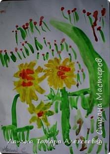 Настя Селлер, 3,8 лет увидела такой одуванчиковую полянку. фото 1