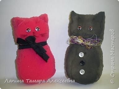Оля Ватрушева выполнила щенка, а Ксюша модницу кошечку. фото 2