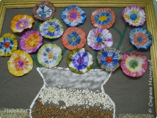 Батик: Букет  цветов