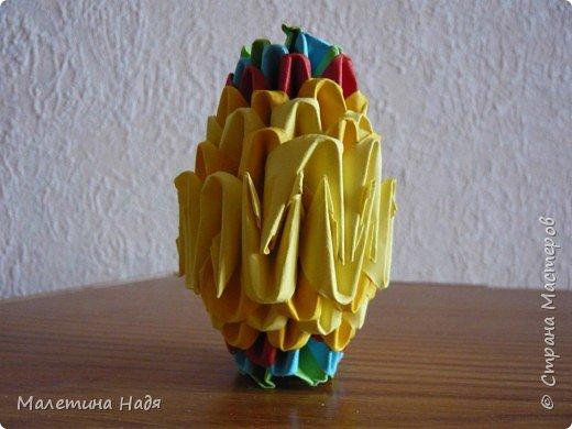 Оригами модульное: ХРИСТОС ВОСКРЕС!!! фото 3