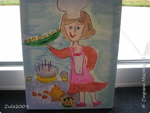 Рисунки детей 4 лет на тему будущей профессии.