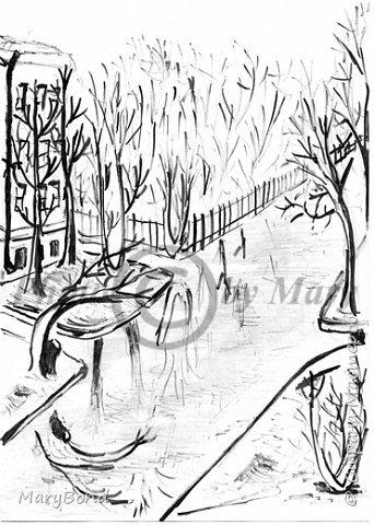 Рисование палочкой