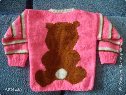 Вязание спицами: свитерок фото 2