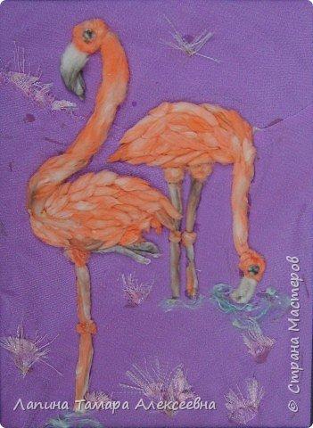 Фантазии на тему птиц из разнообразного материала фото 7