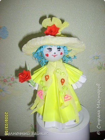 Кусудама: мои любимые куколки