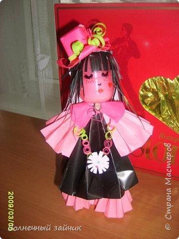 Оригами: еще много кукол