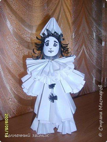 Оригами: куколки фото 2