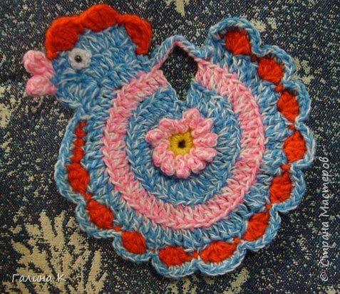 Вязание крючком: Курочки фото 2