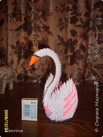Оригами модульное: Царевна -Лебедь фото 2