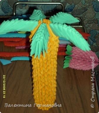 Оригами модульное: Пальма