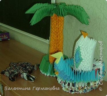 Оригами модульное: тропики