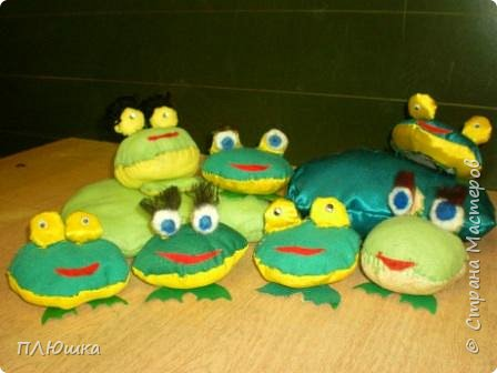 Игрушка мягкая: Ребята-лягушата