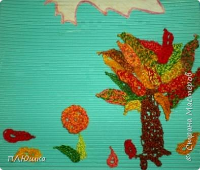 Вязание крючком: Золотая осень фото 2