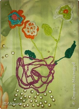 Вязание крючком: Цветочная фантазия.