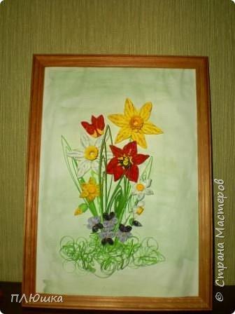 Квиллинг: Букет весны фото 1