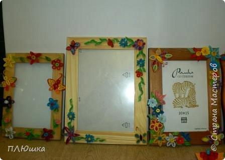 Квиллинг: Рамочки для мамочки фото 1